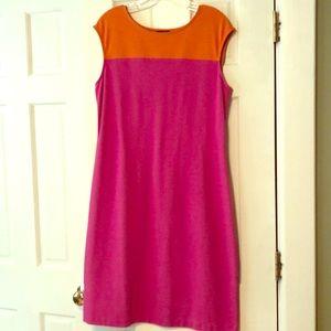 Talbots cap sleeve shift dress (size 10)